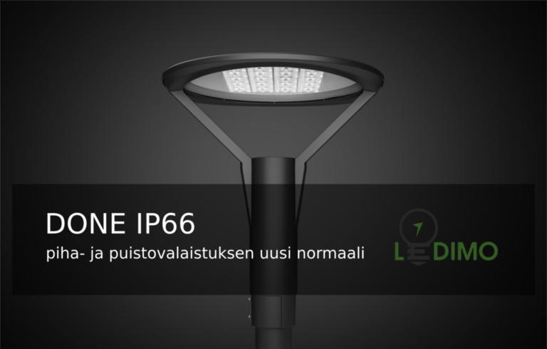 Done IP66 pylväsvalaisin