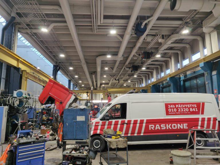 Raskone Oy, Turku - Ledimo Oy