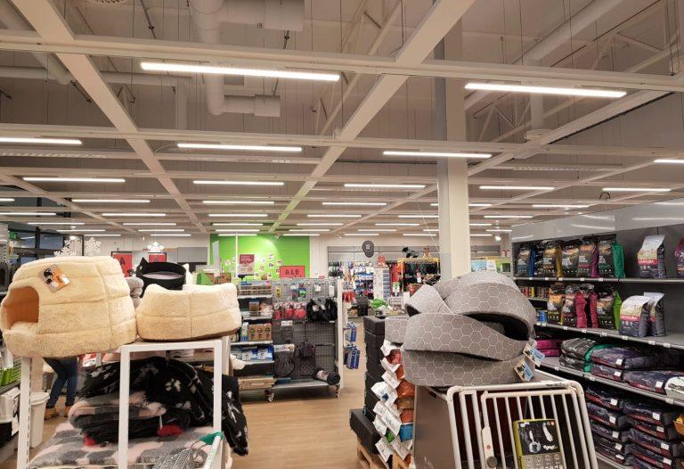 Ledimo Easytrack Line myymälävalaistus