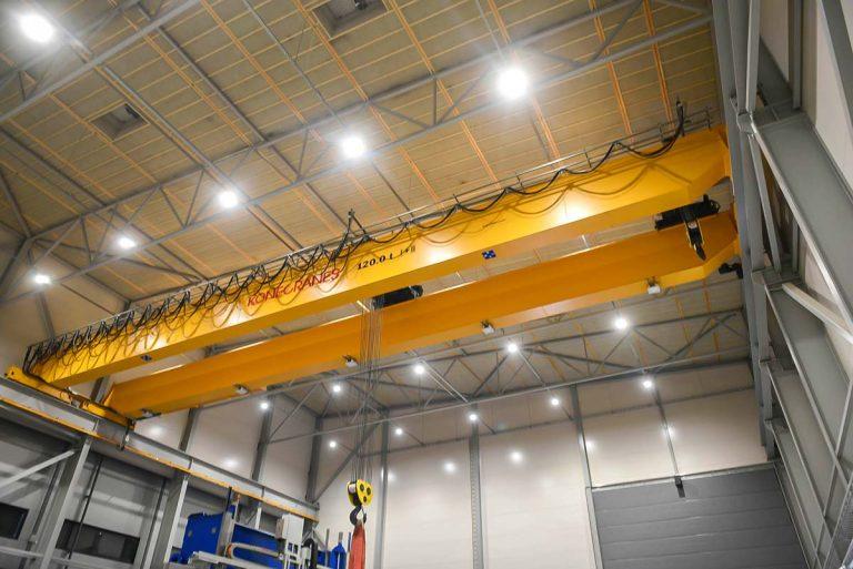 Aurea Group lisäsi energiatehokkuuttaan, työviihtyvyyttä ja työturvallisuuttaan LED-valaistuksella - Ledimo Oy